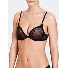 Buy DKNY Super Sleek Embellished Push Up Bra Online at johnlewis.com