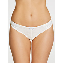 Buy COLLECTION by John Lewis Lana Bridal Thong, Ivory Online at johnlewis.com