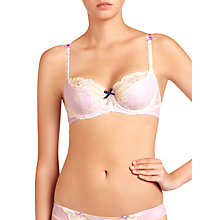 Buy Elle Macpherson Intimates Artistry Contour Bra, Orchid Bloom/Retro Cream Online at johnlewis.com