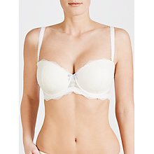 Buy COLLECTION by John Lewis Lana Lace DD Plus  Bridal Balcony Bra, Ivory Online at johnlewis.com