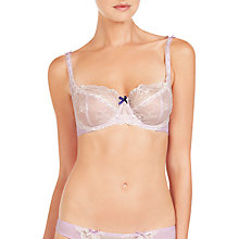 Buy Elle Macpherson Intimates Artistry Orchid DD Plus Underwired Balcony Bra, Orchid Bloom / Retro Cream Online at johnlewis.com