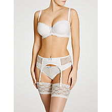 Buy COLLECTION by John Lewis Lana Bridal Suspender Belt, Ivory Online at johnlewis.com