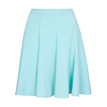 Buy Closet Flared Panel Scuba Skirt, Mint Online at johnlewis.com