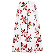 Buy Hobbs Invitation Blossom Skirt, Multi Online at johnlewis.com