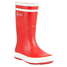 Buy Aigle Childrens' Lollypop Wellington Boots Online at johnlewis.com