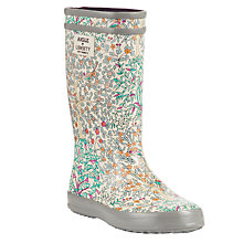 Buy Aigle Children's Liberty Libpop Wellington Boots, Multi Online at johnlewis.com