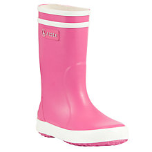 Buy Aigle Children's Lollypop Wellington Boots Online at johnlewis.com