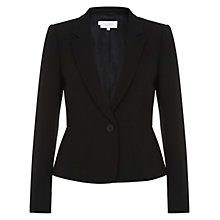 Buy Hobbs Invitation Snowdonia Jacket, Black Online at johnlewis.com