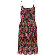Buy Oasis Tropical Floral Maxi Dress, Blue Multi Online at johnlewis.com