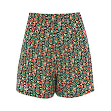Buy Oasis Ditsy Print Shorts, Multi Online at johnlewis.com