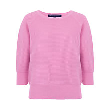Buy French Connection Summer Mozart Ribbed Jumper, Spring Break Online at johnlewis.com