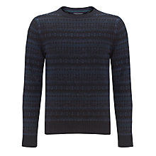 Buy Tommy Hilfiger Koby Crew Neck Jumper, Silver Fog Heather Online at johnlewis.com