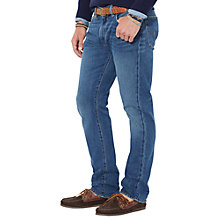 Buy Polo Ralph Lauren Varick Cedar Wash Slim Jeans, Denim Online at johnlewis.com