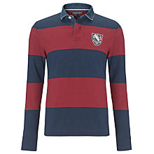 Buy Tommy Hilfiger Tor Rugby Polo Shirt, Navy/Red Online at johnlewis.com