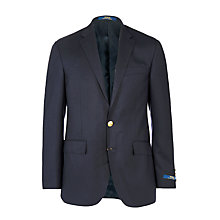 Buy Polo Ralph Lauren Wool Sports Blazer, Navy Online at johnlewis.com