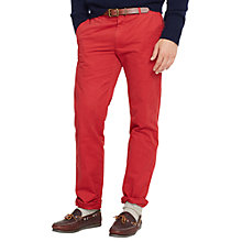 Buy Polo Ralph Lauren Hudson Cotton Chinos, Camden Red Online at johnlewis.com