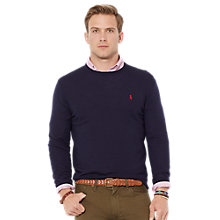 Buy Polo Ralph Lauren Slim Fit Merino Wool Jumper Online at johnlewis.com