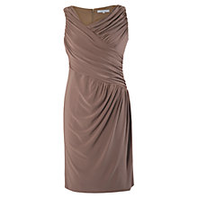 Buy Chesca Ruched Dress, Coffee Online at johnlewis.com