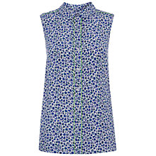 Buy Hobbs NW3 Pioneer Blouse, Well Blue Multi Online at johnlewis.com