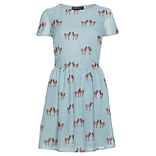 Buy Sugarhill Boutique Burrito Skater Dress, Dusky Green Online at johnlewis.com