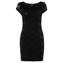 Buy Phase Eight Montpellier Jane Lace Tunic Dress, Black Online at johnlewis.com