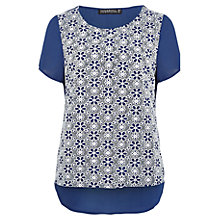 Buy Sugarhill Boutique Doris Top, Navy Online at johnlewis.com