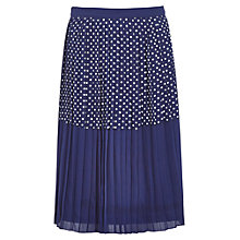 Buy Sugarhill Boutique Bella Skirt, Navy/White Online at johnlewis.com