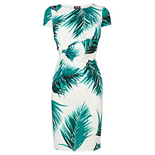 Buy Phase Eight Alexandra Print Dress, Jade/Ivory Online at johnlewis.com