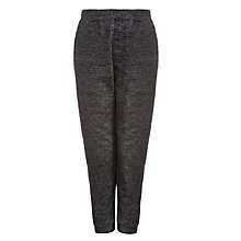 Buy John Lewis Boy Microfleece Joggers, Grey Online at johnlewis.com