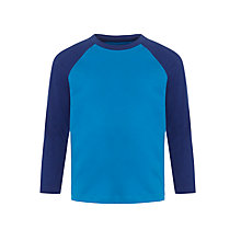 Buy John Lewis Boy Long Sleeve Raglan T-Shirt Online at johnlewis.com