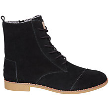 Buy TOMS Alpha Lace Up Boots Online at johnlewis.com