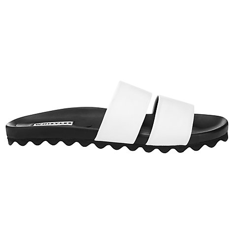 Buy Whistles Maddy Double Band Poolside Sandals Online at johnlewis.com