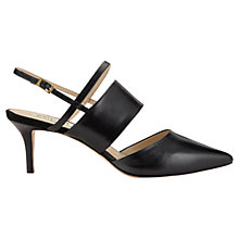 Buy Whistles Joanna Slingback Leather Mules Online at johnlewis.com