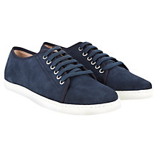 Buy Mint Velvet Bibi Plimsoll Suede Trainers Online at johnlewis.com