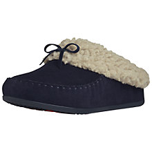 Buy Fitflop Suede Cuddler Snugmoc Slippers Online at johnlewis.com