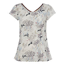 Buy White Stuff Wild Hare Top, Almond Online at johnlewis.com