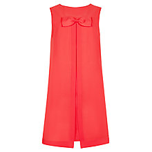 Buy Ted Baker Josa Bow Detail Dress, Dark Orange Online at johnlewis.com