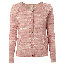 Buy White Stuff Tungsten Cardigan, Red Plum Online at johnlewis.com