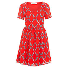 Buy Sugarhill Boutique Pineapple Crush Tea Dress, Red Online at johnlewis.com