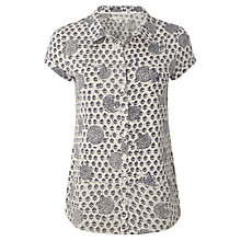 Buy White Stuff Lizzie Shirt, Moonlight Online at johnlewis.com