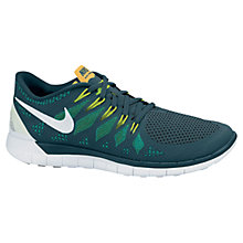 Buy Nike Free 5.0 Men's Running Shoes, Green Online at johnlewis.com