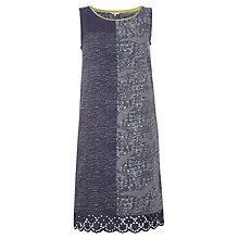 Buy White Stuff Alar Mixed Print Dress, Blue Online at johnlewis.com