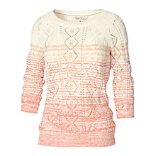 Buy Fat Face Ombre Cable Jumper Online at johnlewis.com