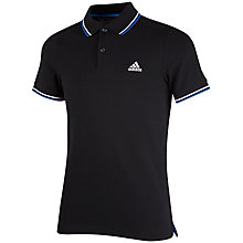 Buy Adidas Essentials Boys' Polo T-Shirt Online at johnlewis.com