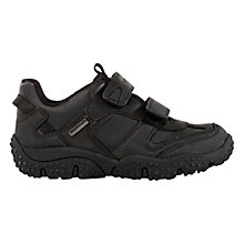 Buy Geox Baltic Boy Shoes, Black Online at johnlewis.com