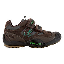 Buy Geox Savage Rip-Tape Trainers Online at johnlewis.com