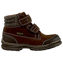 Buy Geox Jr William Rip-Tape Boots, Chestnut Online at johnlewis.com