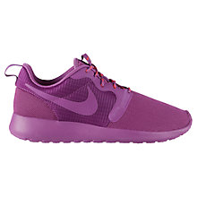 Buy Nike Roshe Women's Running Shoes, Purple Online at johnlewis.com