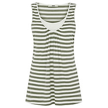 Buy Oasis Stripe Longline Double Layer Vest Online at johnlewis.com