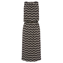Buy Oasis Mono Print Midi Dress, Multi Online at johnlewis.com